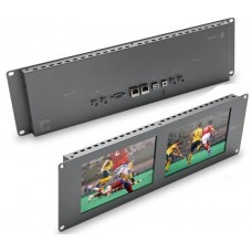 Monitor de vídeo para rack 2 telas, HDMI, SmartView Duo 2 - HDL-SMTVDUO2